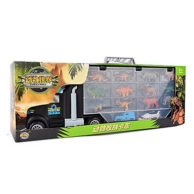 Speelgoedauto's Parkeergarage speelgoedsets Speeltjes Motorfietsen Speeltjes Dieren Rechthoekig Dinosaurus Vliegtuig Rauta Stuks Unisex