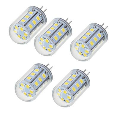 5W G4 LED Doppel-Pin Leuchten T 24 LEDs SMD 2835 Warmes Weiß Kühles Weiß 450-550lm 2700-6500