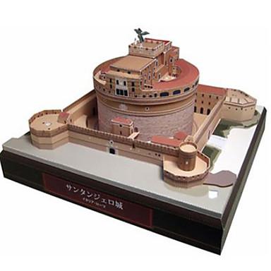 قطع تركيب3D نموذج الورق ألعاب مربع قصر بناء مشهور معمارية اصنع بنفسك ورق صلب غير محدد قطع