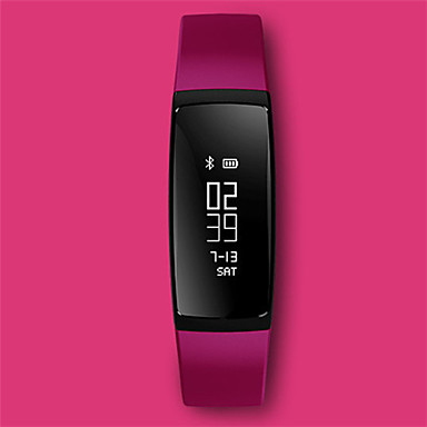 Dames Slim horloge Modieus horloge Digitaal Silicone Band Zwart Blauw Paars