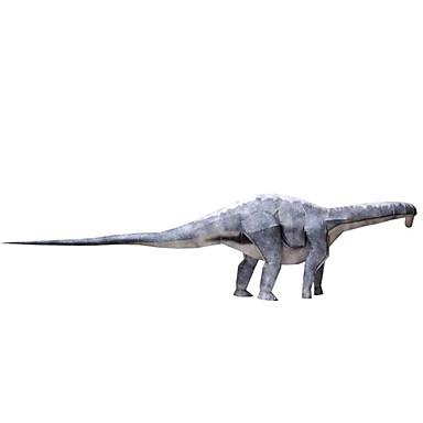 قطع تركيب3D نموذج الورق مجموعات البناء مربع ديناصور اصنع بنفسك ورق صلب كلاسيكي للجنسين هدية