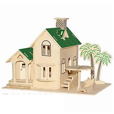 قطع تركيب3D تركيب معدني النماذج الخشبية مجموعات البناء معمارية اصنع بنفسك الخشب الطبيعي كلاسيكي للأطفال للبالغين للجنسين هدية