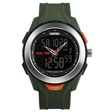 للرجال ساعة رقمية ساعات فاشن ساعة المعصم ساعة رياضية رقمي PU فرقة أسود أخضر