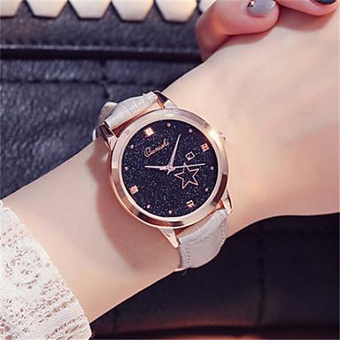 Damen Modeuhr Armbanduhr Quartz Leder Band Rot Braun Grau Lila