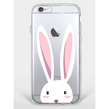 Hülle Für Apple iPhone 7 Plus iPhone 7 Muster Rückseite Tier Weich TPU für iPhone 7 Plus iPhone 7 iPhone 6s Plus iPhone 6s iPhone 6 Plus
