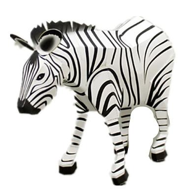Puzzle 3D Modelul de hârtie Lucru Manual Din Hârtie Μοντέλα και κιτ δόμησης Pătrat Cai Zebră 3D Animale Simulare Reparații Hârtie Rigidă