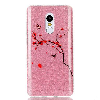 Für Hüllen Cover IMD Rückseitenabdeckung Hülle Glänzender Schein Blume Weich TPU für XiaomiXiaomi Redmi Note 4X Xiaomi Redmi 4a Xiaomi
