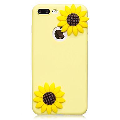 Hülle Für Apple iPhone 7 Plus iPhone 7 Muster Heimwerken Rückseite Blume Weich TPU für iPhone 7 Plus iPhone 7 iPhone 6s Plus iPhone 6s