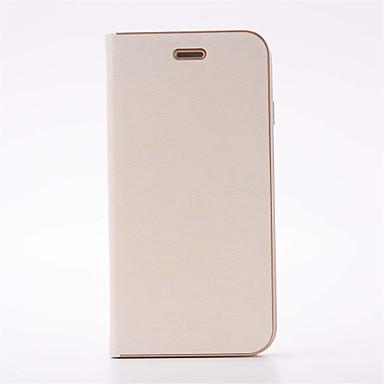 Pentru iPhone 8 iPhone 8 Plus Carcase Huse Titluar Card Cu Stand Placare Întoarce Corp Plin Maska Culoare solidă Greu PU Piele pentru