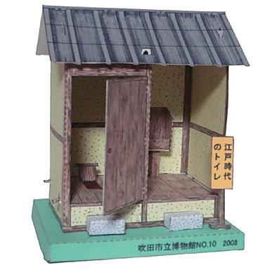 3D-puzzels Papierkunst Modelbouwsets Beroemd gebouw Huis Architectuur 3D DHZ Klassiek Unisex Geschenk