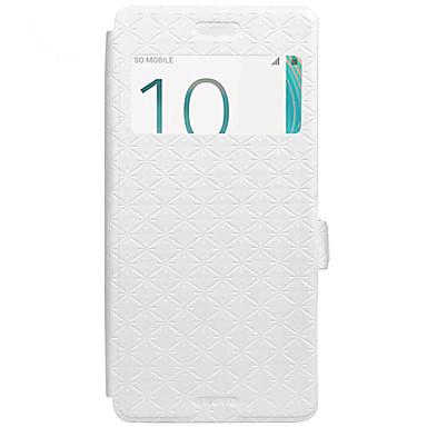 Fall für Sony Xperia x xa Fall Deckel Kartenhalter mit Standfuß geprägt Ganzkörpergehäuse geometrisches Muster hartes PU-Leder für Sony xz