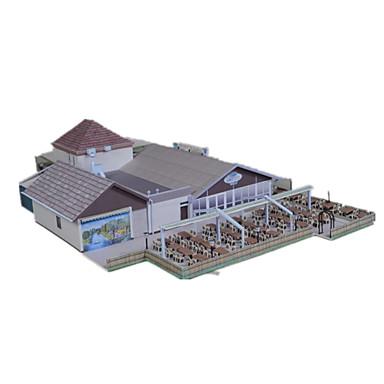 3D-puzzels Bouwplaat Papierkunst Modelbouwsets Beroemd gebouw Architectuur 3D Simulatie DHZ Klassiek Unisex Geschenk