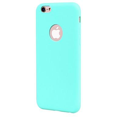 Hoesje voor iphone 7 7 plus deksel frosted back cover case solide kleur soft tpu voor 6s 6 plus 6s 6 se 5s 5