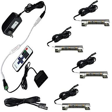 2W 12 LEDs Dekorativ Ferngesteuert Schranklichter Warmes Weiß Kühles Weiß AC85-265