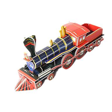 Speelgoedauto's 3D-puzzels Legpuzzel Trein Speeltjes Trein 3D DHZ Korkealaatuinen paperi Niet gespecificeerd Unisex Jongens Stuks