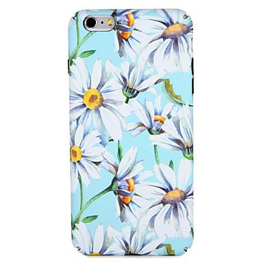 Fall für Apfel iphone 7 plus / 7 Abdeckungsmuster rückseitige Abdeckungsfallblume harter PC iphone 6s plus / 6 plus / 6s / e 6