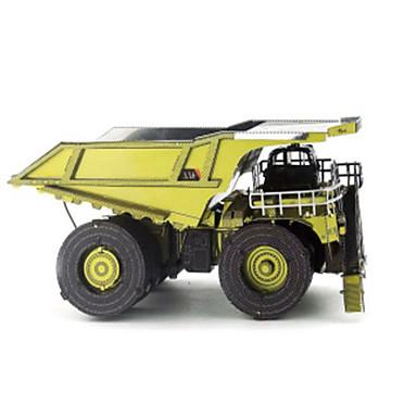 Speelgoedauto's 3D-puzzels Legpuzzel Metalen puzzels Constructievoertuig Speeltjes Vrachtwagen DHZ Metaal Niet gespecificeerd Stuks