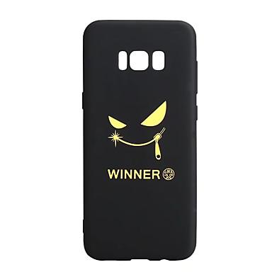hoesje Voor Samsung Galaxy S8 Plus S8 Patroon Achterkantje Woord / tekst Zacht TPU voor S8 S8 Plus S7 edge S7 S6 edge S6