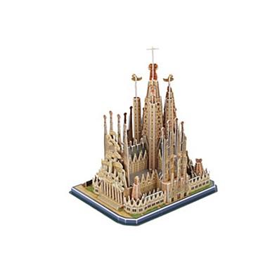 قطع تركيب3D تركيب ألعاب بناء مشهور Church معمارية 3D EPS+EPU غير محدد قطع