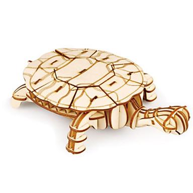 3D - Puzzle Holzpuzzle Holzmodell Modellbausätze Spielzeuge Tier 3D Heimwerken Holz Naturholz keine Angaben Stücke