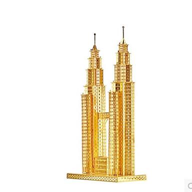 Puzzle 3D Puzzle Puzzle Metal Μοντέλα και κιτ δόμησης Clădire celebru Arhitectură 3D Reparații Aluminiu MetalPistol Clasic Adulți Unisex