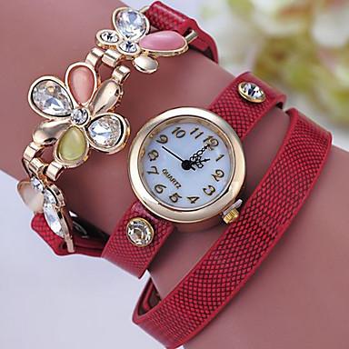 Damen Armband-Uhr digital Metall Band Schwarz Weiß Blau Rot Grün Grau Gold Gelb