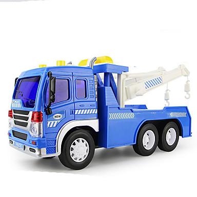 Jucării pentru mașini Jucarii Jucării Educaționale Trage înapoi Car / inerțial auto Motocicletă Vehicul de Construcție Excavator Jucarii