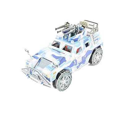 Spielzeug-Autos 3D - Puzzle Holzpuzzle Panzer Streitwagen 3D Heimwerken Hochwertiges Papier Klassisch 6 Jahre alt und höher