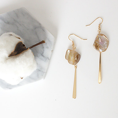 Damen Tropfen-Ohrringe - Euramerican / Modisch Gold Irregulär Ohrringe Für Party / Alltag