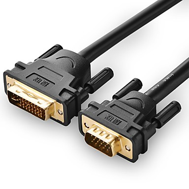 UGREEN DVI Adapterkabel, DVI to VGA Adapterkabel Mannelijk - Mannelijk 8.0m (26ft)