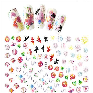 1pcs 3D-kynsitarrat Sticker DHZ-benodigdheden 3D Meisjes & jonge vrouwen Modieus Dagelijks Hoge kwaliteit