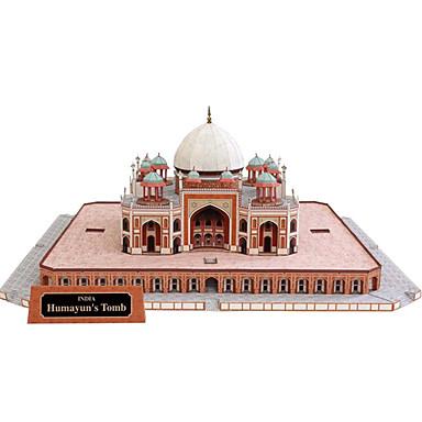 3D-puzzels Bouwplaat Modelbouwsets Vierkant Beroemd gebouw Architectuur DHZ Hard Kaart Paper Klassiek Jongens Unisex Geschenk