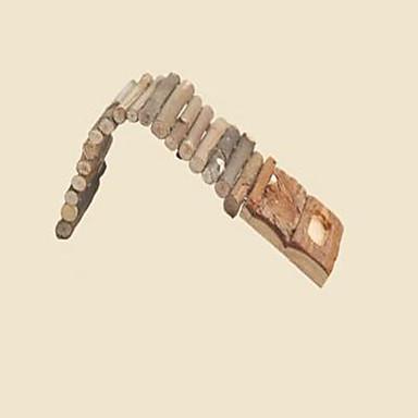 القوارض الأرانب شنشلس الهمستر حيوان قارض خشب محمول قابل للطي ضد الماء مضاعف متعددة الوظائف الفراش و القمامة لون عشوائي