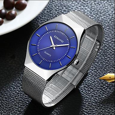 Bărbați Unic Creative ceas Ceas de Mână Ceas La Modă Ceas Sport Ceas Casual Chineză Quartz Rezistent la Apă Aliaj Bandă Charm Creative