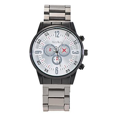 Bărbați Ceas Elegant Ceas La Modă Ceas Casual Ceas de Mână Unic Creative ceas Chineză Quartz Aliaj Bandă Charm Casual Elegant Negru Argint