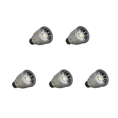 7W 780 lm GU10 LED Spot Lampen 1 Leds COB Abblendbar Warmes Weiß Kühles Weiß Wechselstrom 110-220