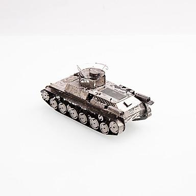 3D-puzzels Legpuzzel Metalen puzzels Modelbouwsets Tank 3D DHZ Kromi Metaal Klassiek 6 jaar en ouder