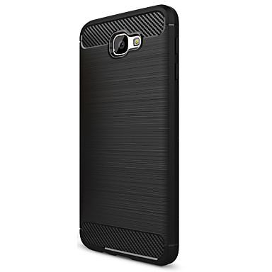 Asling case für samsung galaxy j5 prime case cover stoßfeste matt rückseitige cover case solid color soft carbon fiber