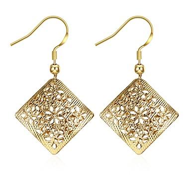 Damen Tropfen-Ohrringe Schmuck Basis Einzigartiges Design Anhänger Stil Herz Natur Geometrisch Freundschaft Modisch Modeschmuck Vintage