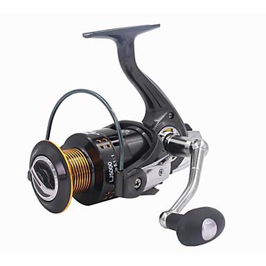 Pescuit Având Reel Role de filare 5.2:1 Raport Transmisie+13 Rulmenti mână Orientare schimbabil Pescuit mare Pescuit de Apă Dulce Pescuit