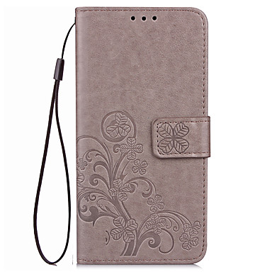 Hülle Für Huawei Honor 7 Huawei Honor V8 Huawei Kreditkartenfächer Geldbeutel mit Halterung Flipbare Hülle Geprägt Ganzkörper-Gehäuse