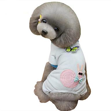 Hond Pyjama Hondenkleding Casual/Dagelijks Dier Blauw Roze Kostuum Voor huisdieren
