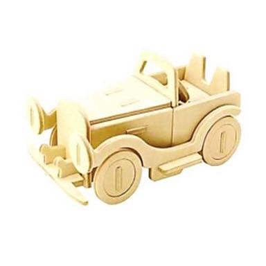 Puzzle 3D Puzzle Jucarii Mașină 3D Animale Reparații Lemn Lemn natural Unisex Bucăți