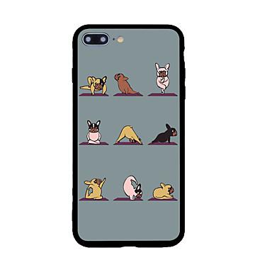 Hülle Für Apple Muster Rückseitenabdeckung Hund Hart Acryl für iPhone 7 plus iPhone 7 iPhone 6s Plus iPhone 6 Plus iPhone 6s iPhone 6