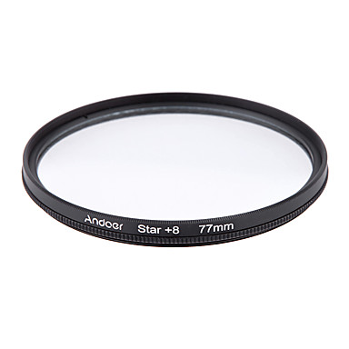 Andoer 77mm filter set uv cpl ster 8-punts filter kit met case voor Canon Nikon Sony DSLR camera lens