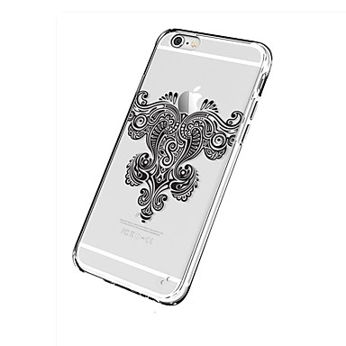 Hülle Für Apple iPhone 7 Plus iPhone 7 Transparent Muster Rückseite Mandala Weich TPU für iPhone 7 Plus iPhone 7 iPhone 6s Plus iPhone 6s