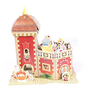 3D-puzzels Legpuzzel Bouwplaat Speeltjes Kasteel Huis Architectuur 3D Feest DHZ Niet gespecificeerd Unisex Jongens Stuks