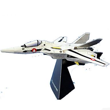 3D-puzzels Bouwplaat Modelbouwsets Papierkunst Speeltjes Vierkant Vliegtuig 3D DHZ Simulatie Hard Kaart Paper Unisex Stuks