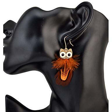 Damen Ohrstecker Tropfen-OhrringeBasis Kreisförmiges Einzigartiges Design Tier Design Geometrisch Freundschaft T¨¹rkisch Gothic Langlebig