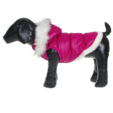 Câine Haine Îmbrăcăminte Câini Respirabil Casul/Zilnic Prințesă Alb Fucsia Albastru Costume Pentru animale de companie
